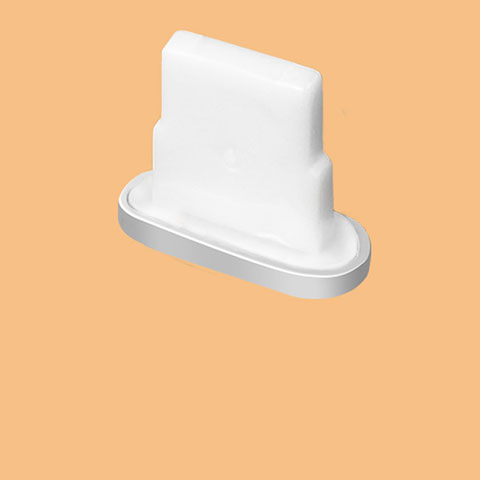 Staubschutz Stöpsel Passend Lightning USB Jack J07 für Apple iPhone 11 Silber