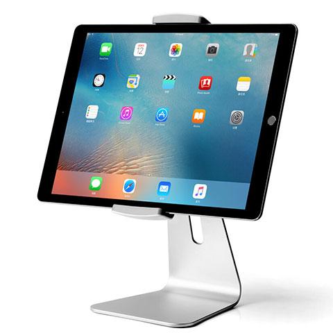 Tablet Halter Halterung Universal Tablet Ständer T24 für Samsung Galaxy Tab 2 7.0 P3100 P3110 Silber