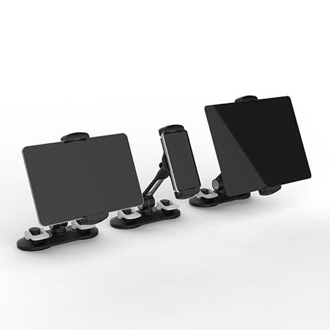 Universal Faltbare Ständer Tablet Halter Halterung Flexibel H11 für Apple iPad Pro 12.9 (2020) Schwarz