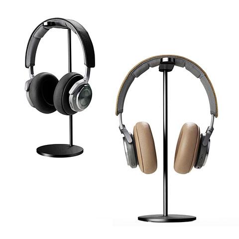 Universal Ständer Ohrhörer Headset Kopfhörer Stand H01 Schwarz