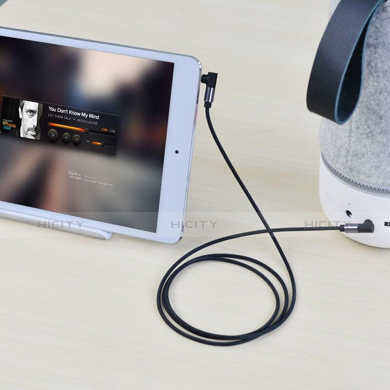 Audio Stereo 3.5mm Klinke Kopfhörer Verlängerung Kabel auf Stecker A09 Schwarz groß