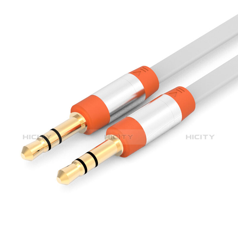 Audio Stereo 3.5mm Klinke Kopfhörer Verlängerung Kabel auf Stecker A12 Orange Plus