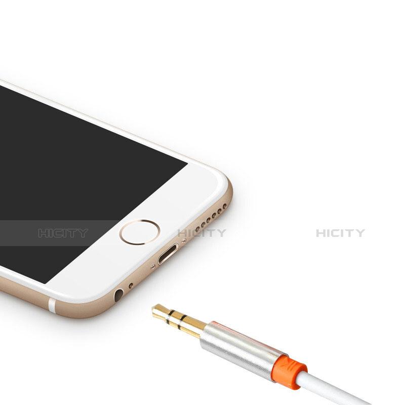 Audio Stereo 3.5mm Klinke Kopfhörer Verlängerung Kabel auf Stecker A12 Orange groß