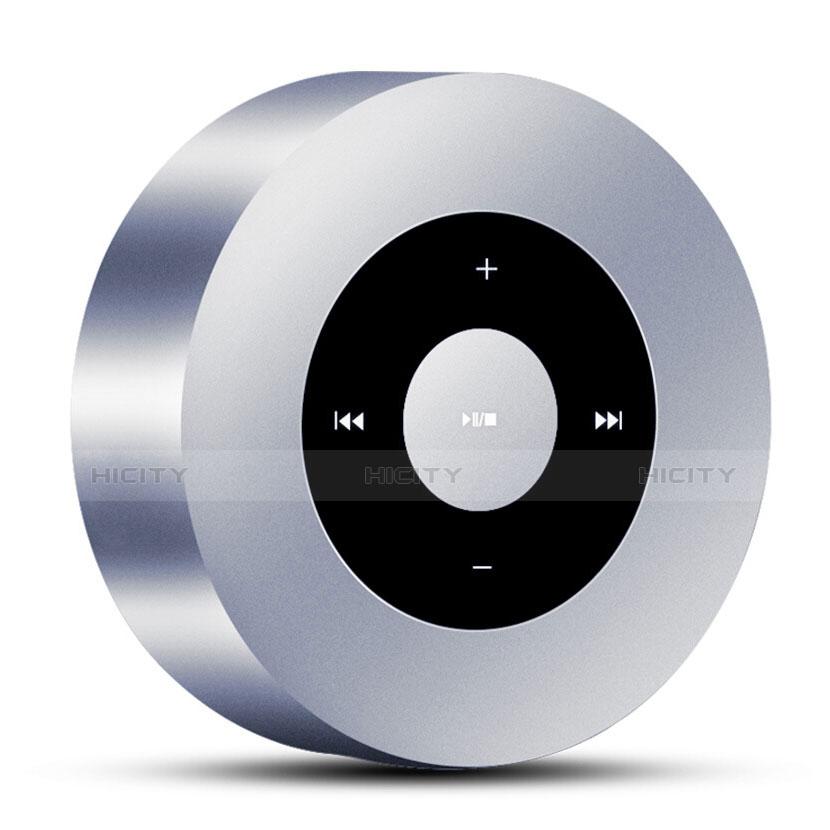 Bluetooth Mini Lautsprecher Wireless Speaker Boxen S07 Silber Plus