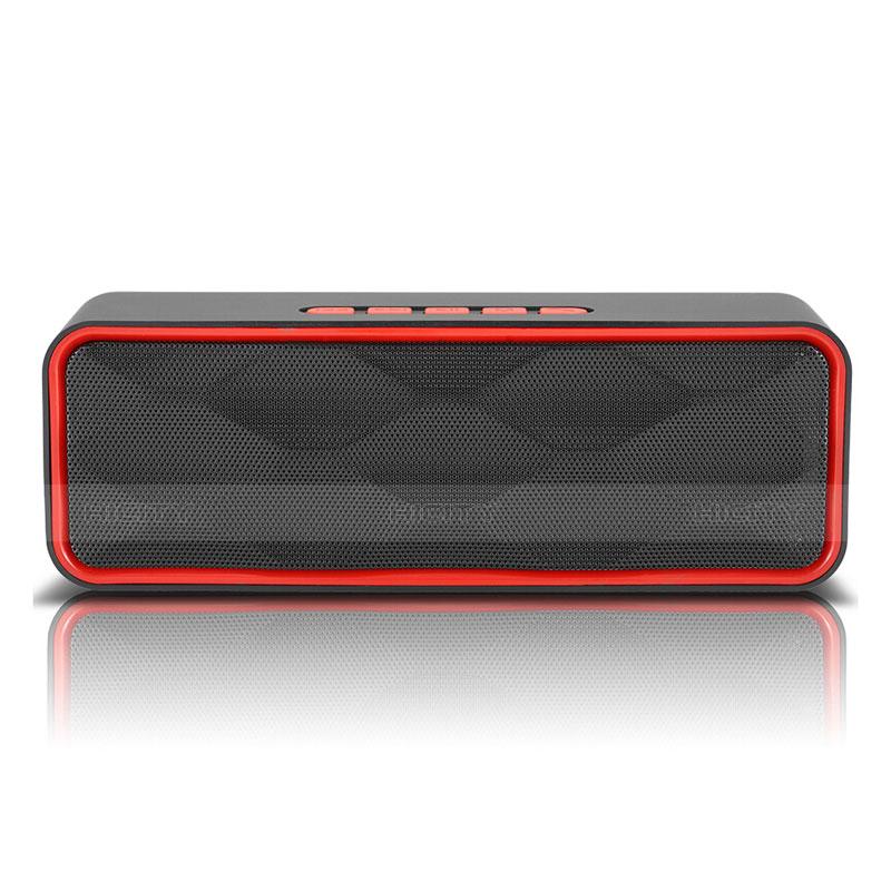 Bluetooth Mini Lautsprecher Wireless Speaker Boxen S18 Rot groß