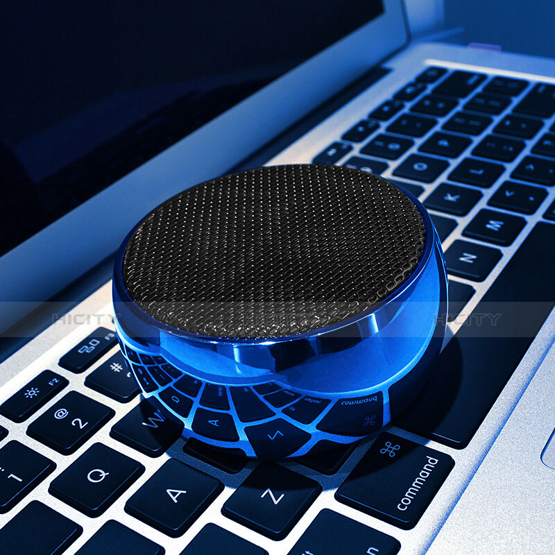 Bluetooth Mini Lautsprecher Wireless Speaker Boxen S25 Blau groß
