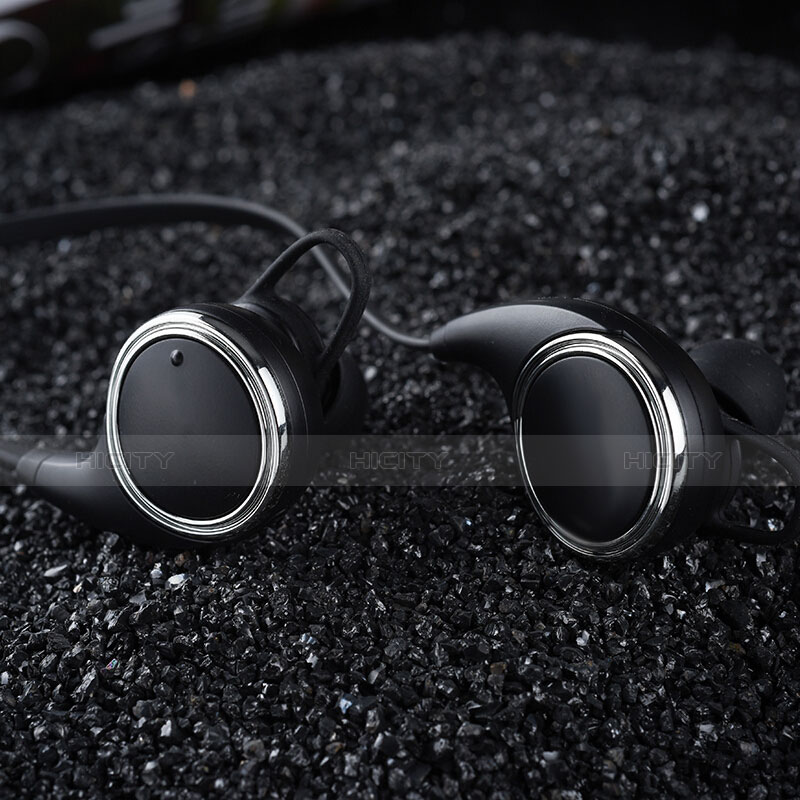 Bluetooth Wireless Stereo Kopfhörer Sport Ohrhörer In Ear Headset H42 Schwarz groß