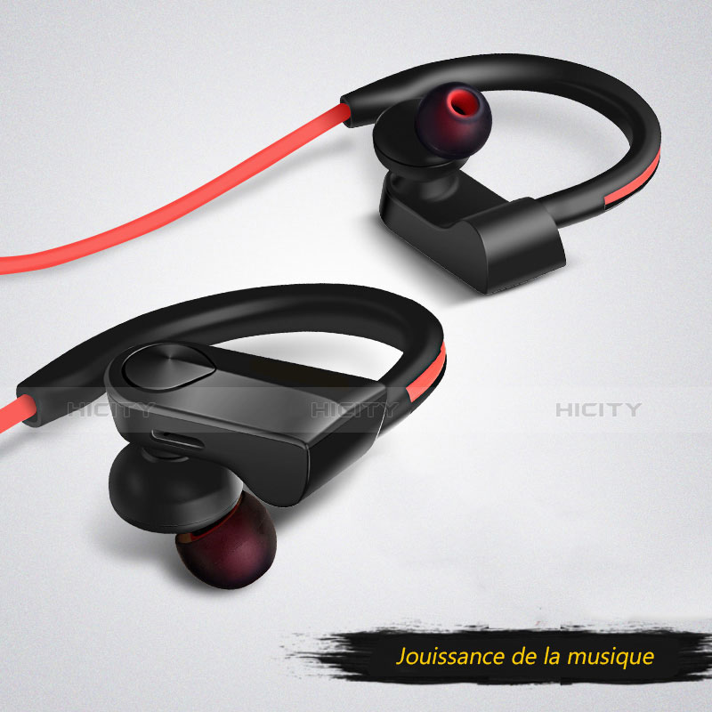 Bluetooth Wireless Stereo Kopfhörer Sport Ohrhörer In Ear Headset H53 Schwarz Plus