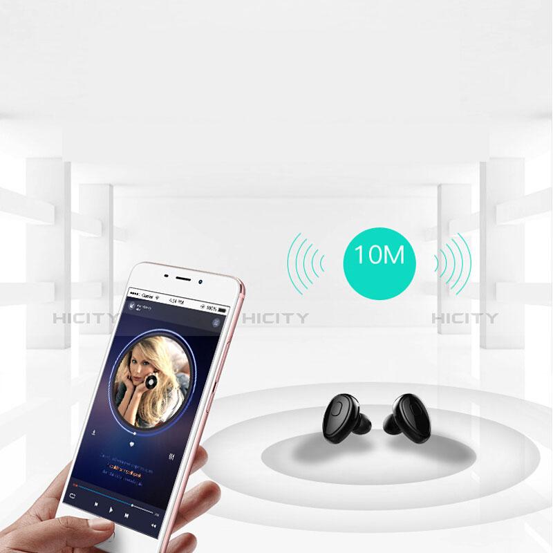 Bluetooth Wireless Stereo Ohrhörer Sport Kopfhörer In Ear Headset H45 Schwarz groß