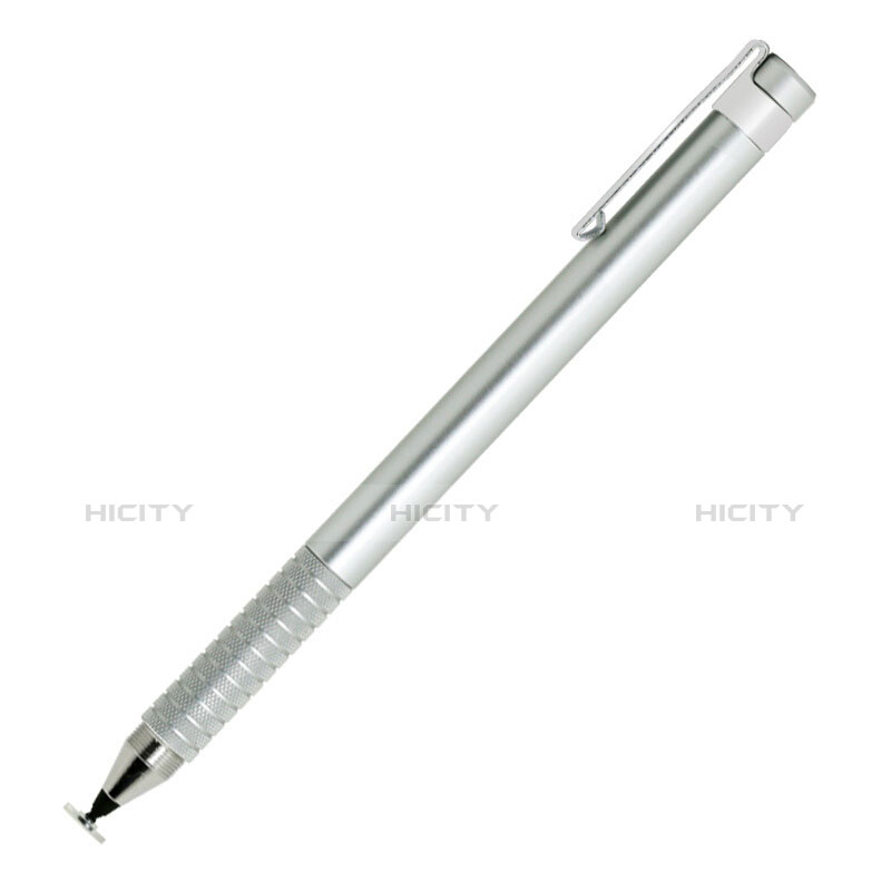 Eingabestift Touchscreen Pen Stift Präzisions mit Dünner Spitze P14 Silber groß