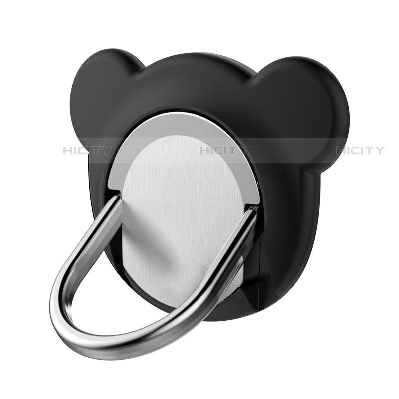 Fingerring Ständer Magnetische Smartphone Halter Halterung Universal Z14 Schwarz Plus