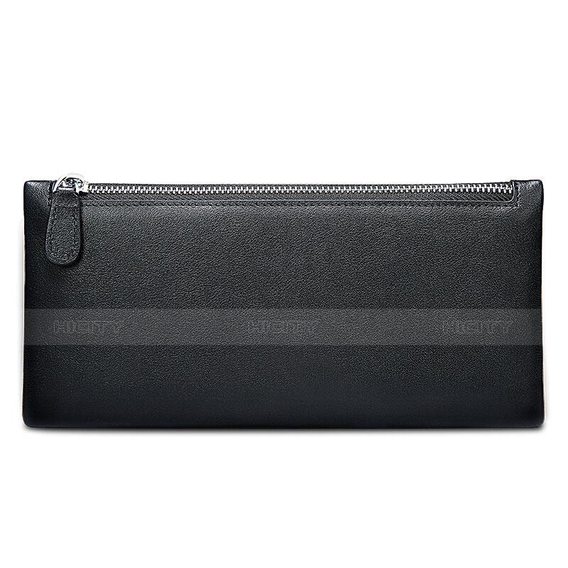 Handtasche Clutch Handbag Schutzhülle Leder Universal H17 Schwarz Plus