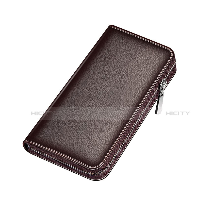 Handtasche Clutch Handbag Schutzhülle Leder Universal K18 groß