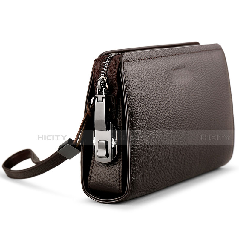 Handtasche Clutch Handbag Schutzhülle Leder Universal K19 groß