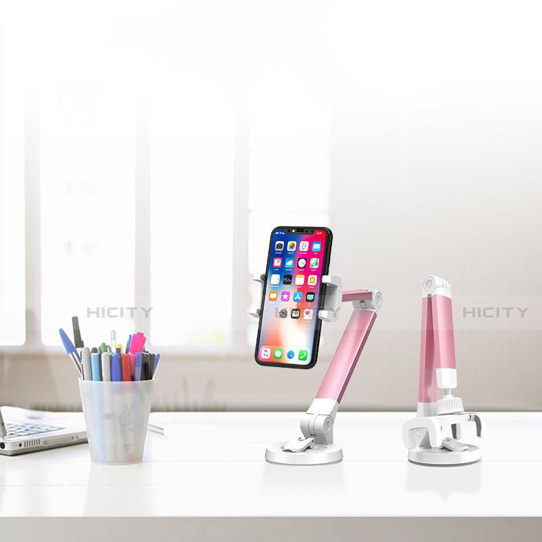 Handy Ständer Smartphone Halter Halterung Stand Universal K33 Rosa groß