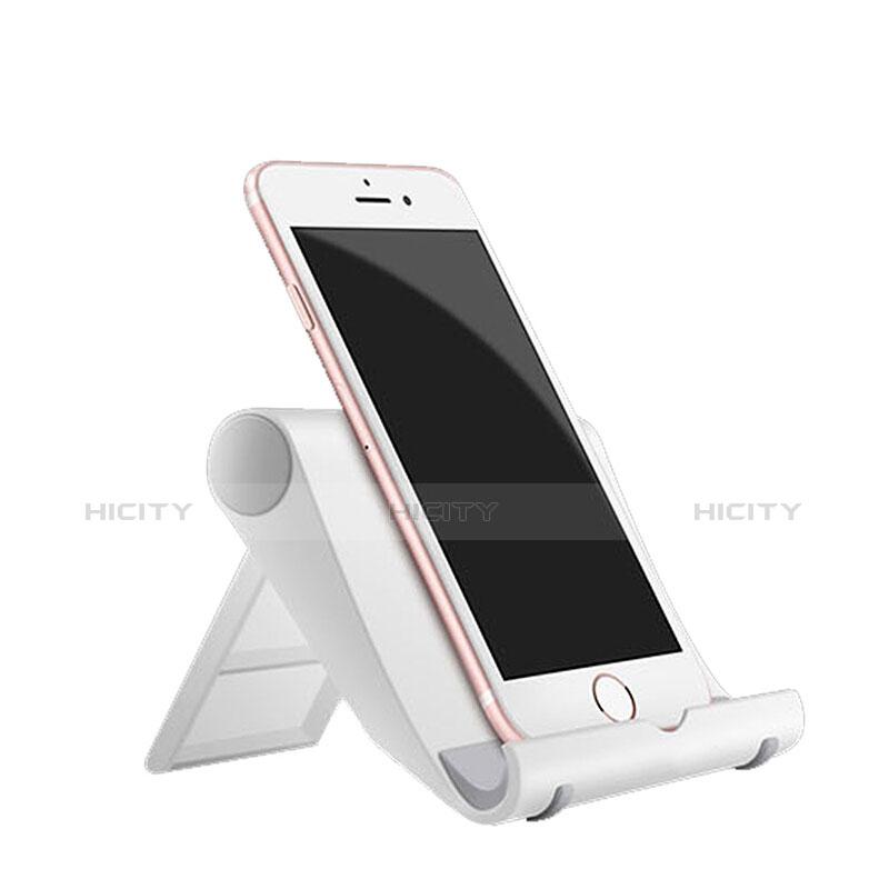 Handy Ständer Smartphone Halter Halterung Stand Universal Weiß Plus