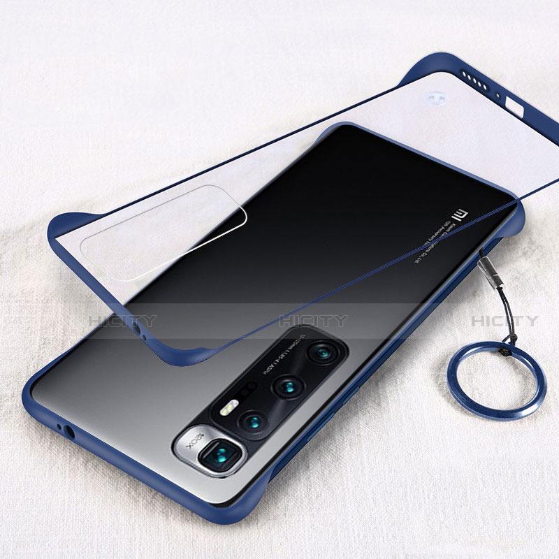 Handyhülle Hülle Crystal Hartschalen Tasche Schutzhülle H01 für Xiaomi Mi 10 Ultra Blau