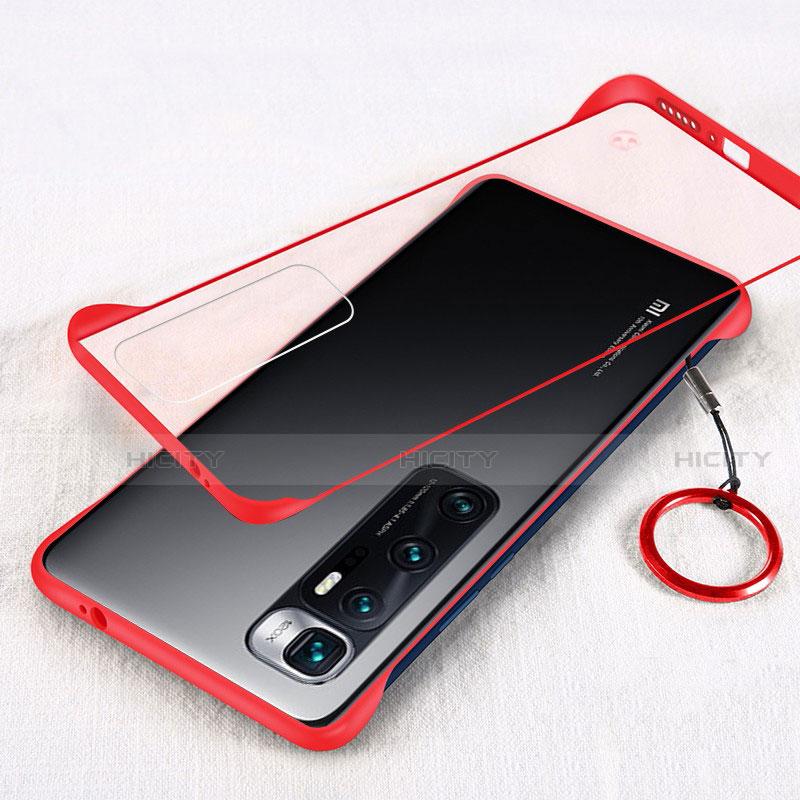 Handyhülle Hülle Crystal Hartschalen Tasche Schutzhülle H01 für Xiaomi Mi 10 Ultra Rot Plus