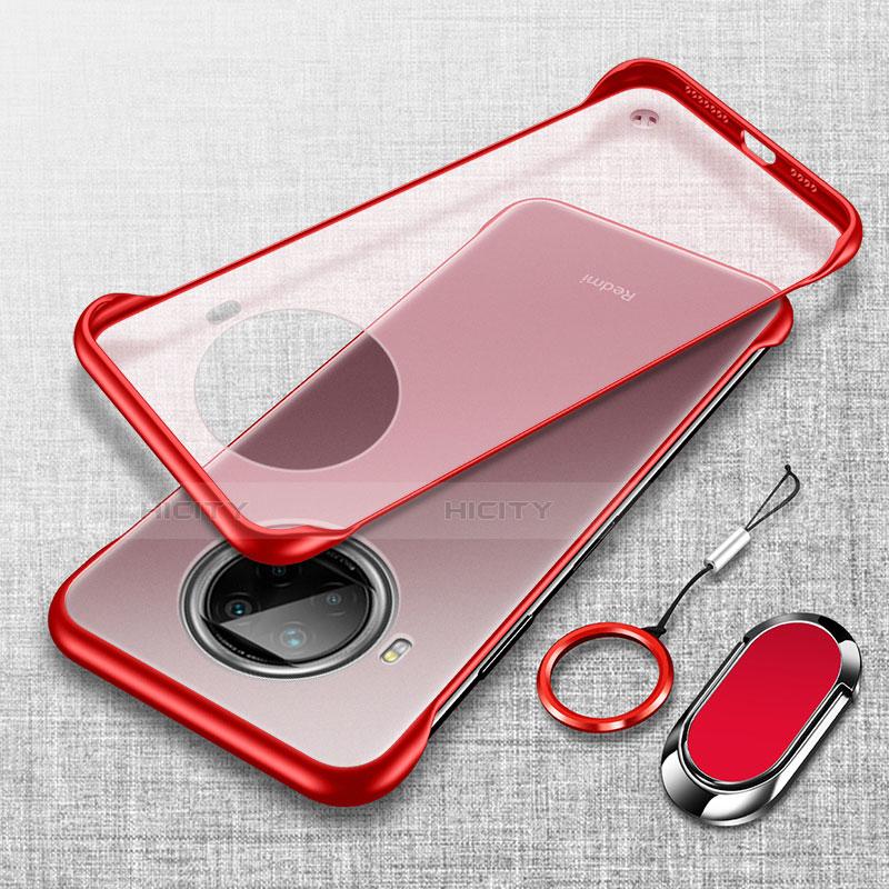 Handyhülle Hülle Crystal Hartschalen Tasche Schutzhülle H01 für Xiaomi Mi 10T Lite 5G Rot Plus