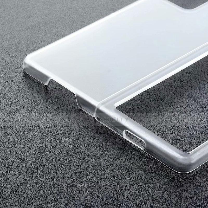 Handyhülle Hülle Crystal Schutzhülle Tasche für Samsung Galaxy Z Fold2 5G Schwarz groß