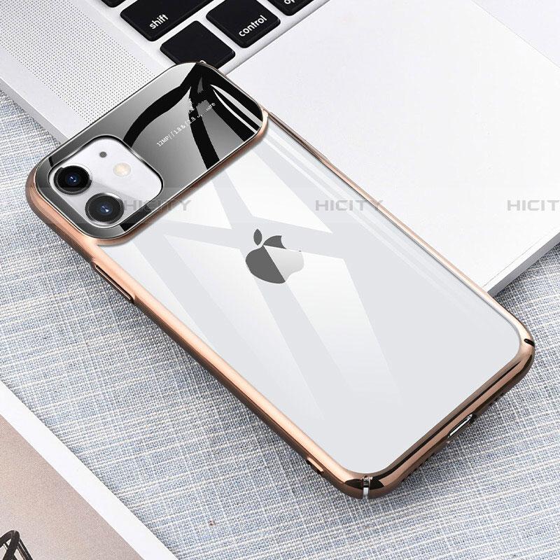 Handyhülle Hülle Crystal Tasche Schutzhülle S04 für Apple iPhone 11 Gold Plus