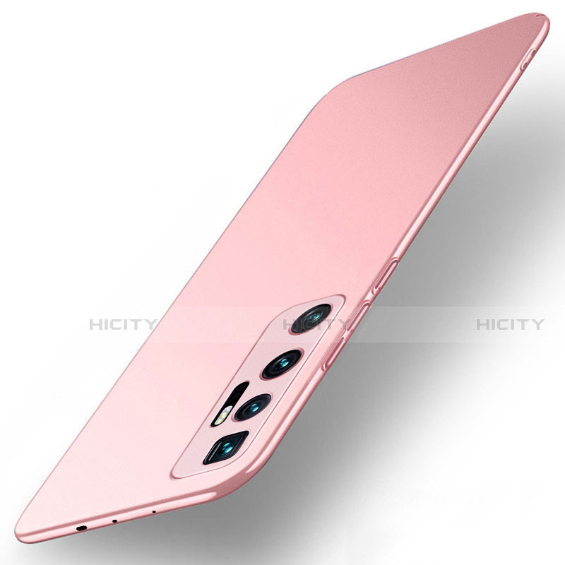 Handyhülle Hülle Hartschalen Kunststoff Schutzhülle Tasche Matt M01 für Xiaomi Mi 10 Ultra Rosegold Plus