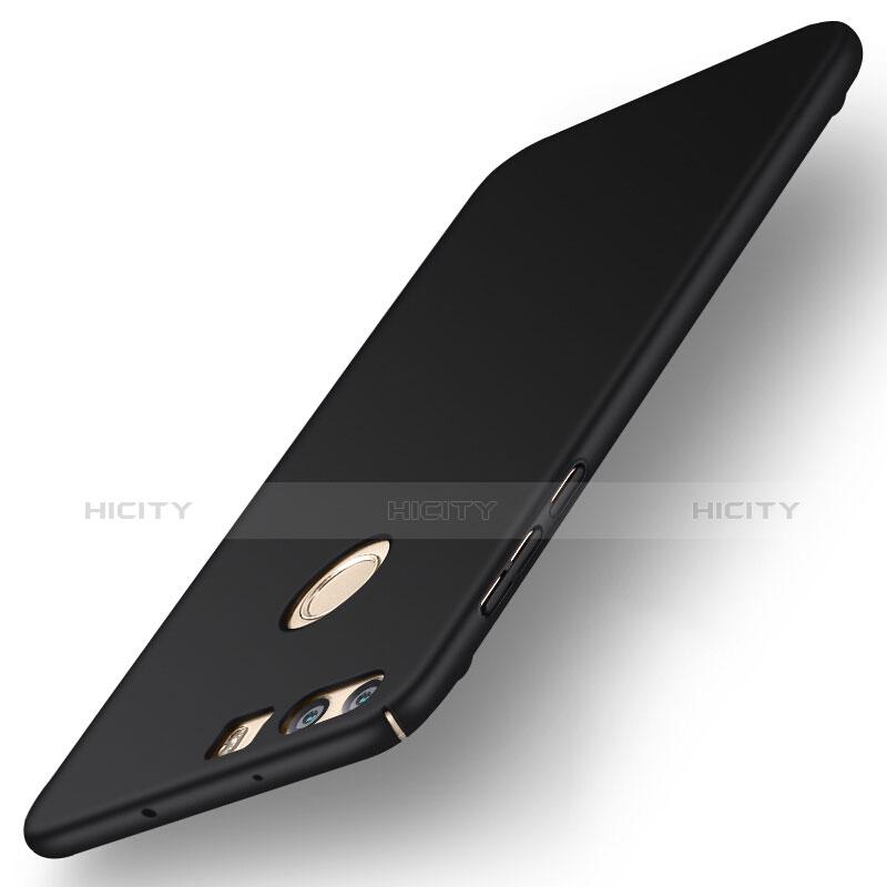 Handyhülle Hülle Kunststoff Schutzhülle Matt für Huawei Honor 8 Schwarz Plus