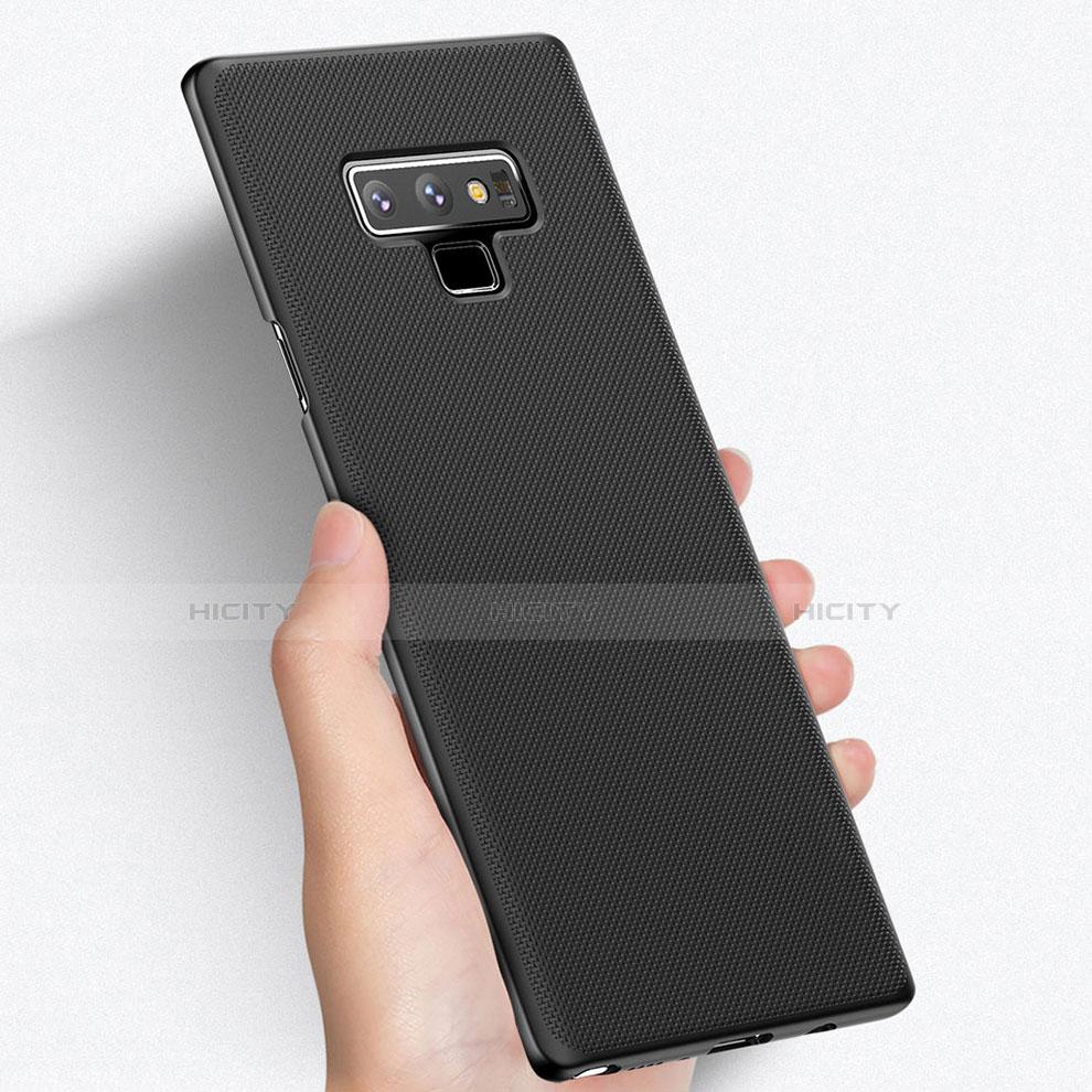 Handyhülle Hülle Kunststoff Schutzhülle Matt M03 für Samsung Galaxy Note 9 Schwarz Plus