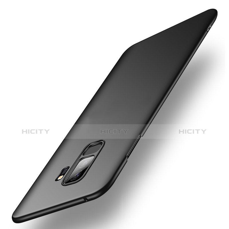 Handyhülle Hülle Kunststoff Schutzhülle Matt M03 für Samsung Galaxy S9 Plus Schwarz