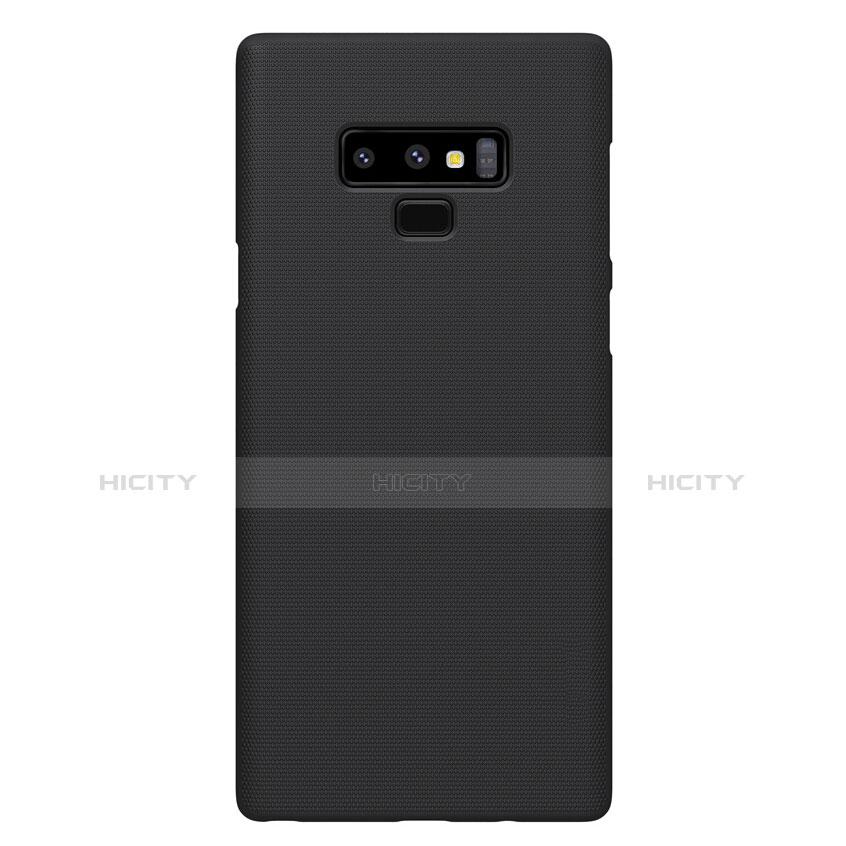 Handyhülle Hülle Kunststoff Schutzhülle Matt M04 für Samsung Galaxy Note 9 Schwarz groß