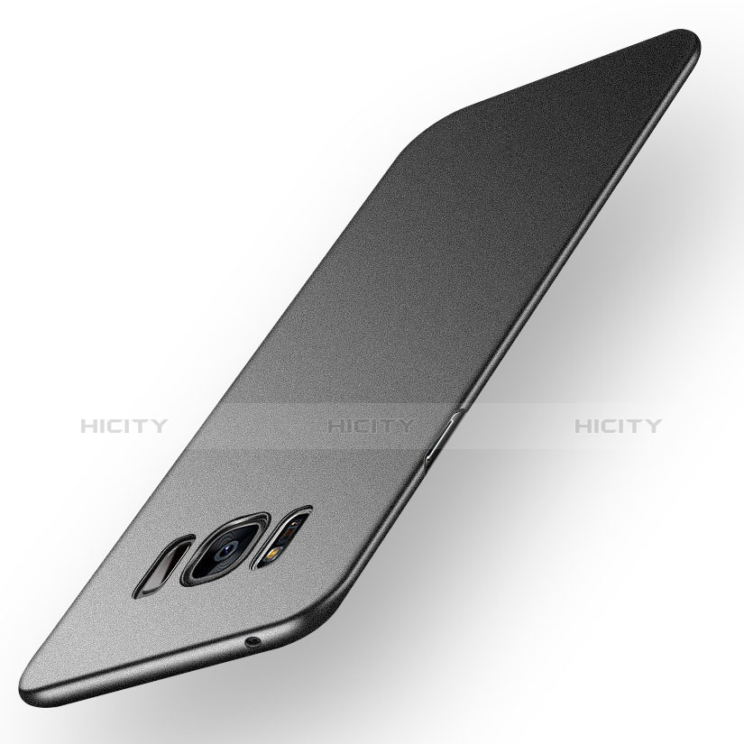Handyhülle Hülle Kunststoff Schutzhülle Matt P03 für Samsung Galaxy S8 Plus Schwarz Plus