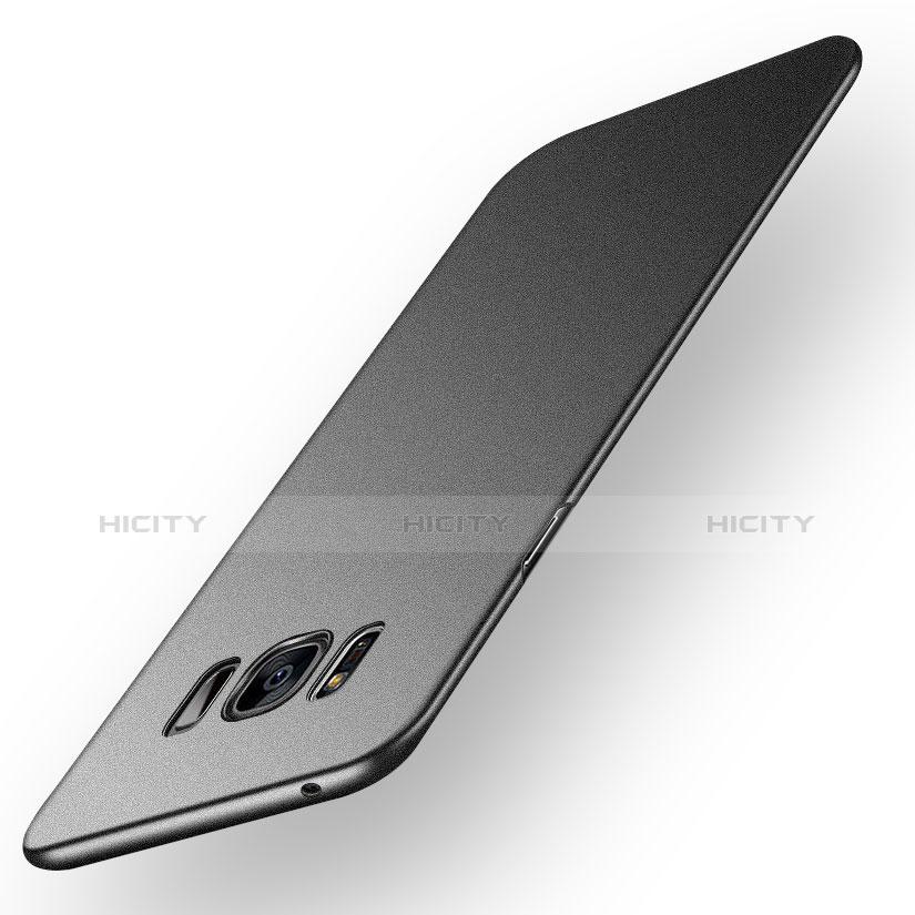 Handyhülle Hülle Kunststoff Schutzhülle Matt P03 für Samsung Galaxy S8 Schwarz Plus