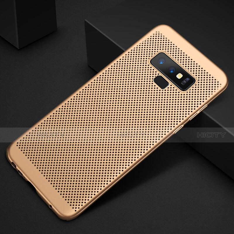 Handyhülle Hülle Kunststoff Schutzhülle Punkte Loch Tasche für Samsung Galaxy Note 9 groß