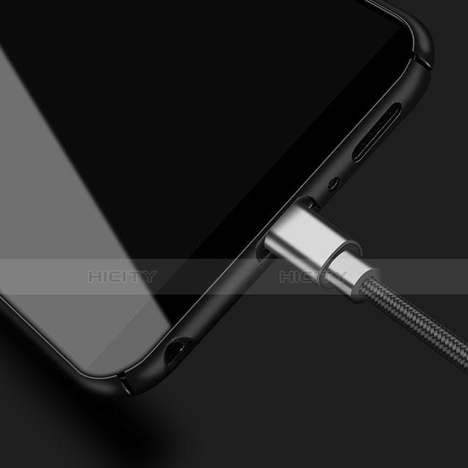 Handyhülle Hülle Kunststoff Schutzhülle Punkte Loch Tasche für Samsung Galaxy S9 Plus groß