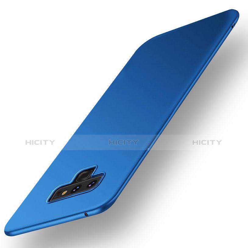 Handyhülle Hülle Kunststoff Schutzhülle Tasche Matt M01 für Samsung Galaxy Note 9 Blau Plus