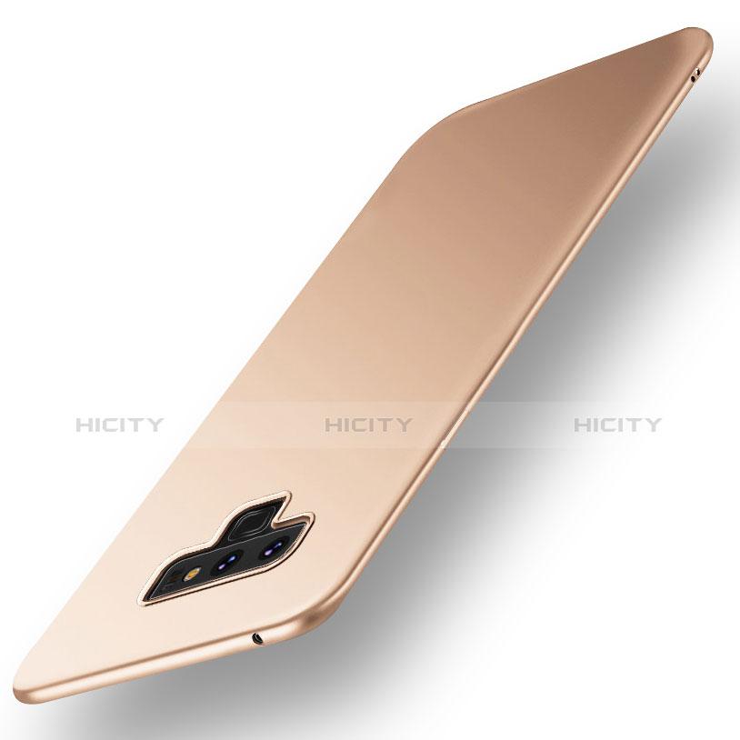 Handyhülle Hülle Kunststoff Schutzhülle Tasche Matt M01 für Samsung Galaxy Note 9 Gold Plus