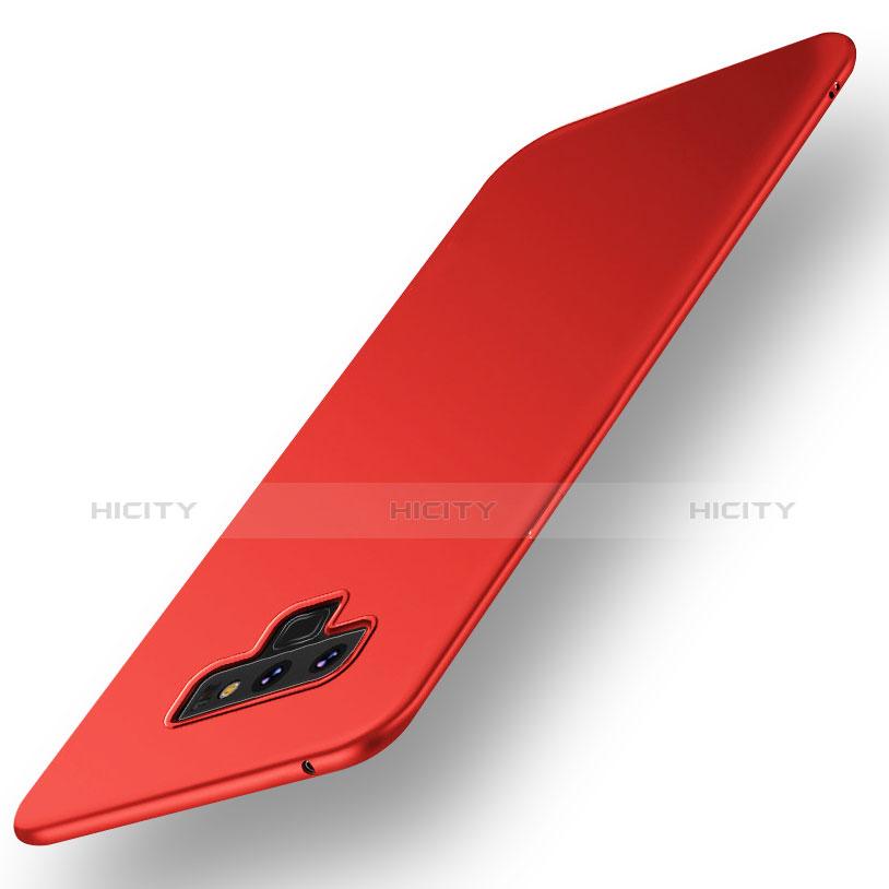 Handyhülle Hülle Kunststoff Schutzhülle Tasche Matt M01 für Samsung Galaxy Note 9 Rot Plus