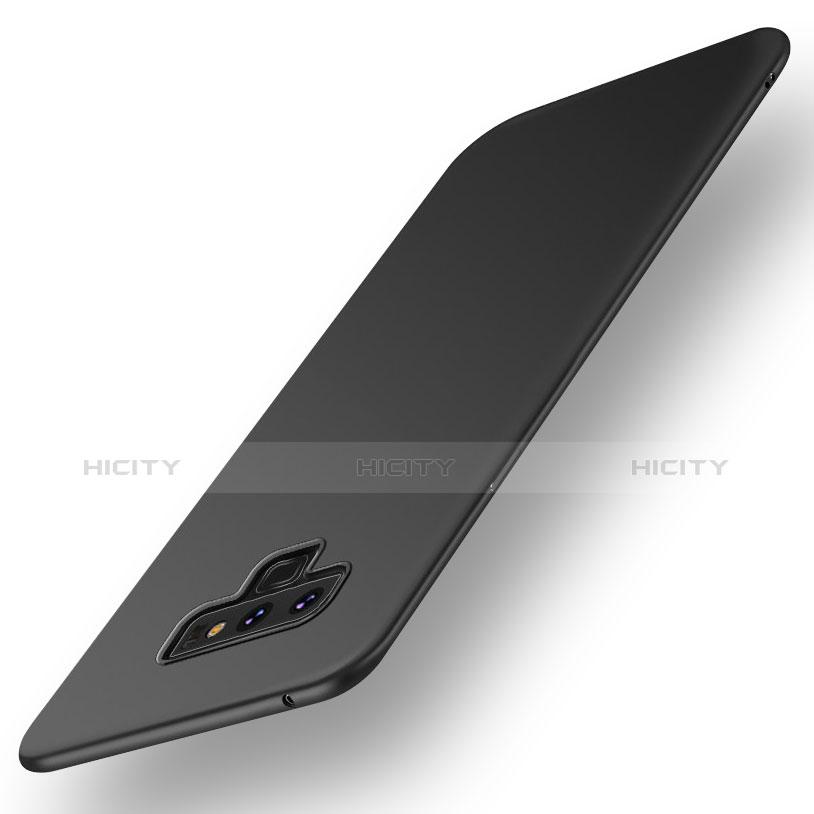 Handyhülle Hülle Kunststoff Schutzhülle Tasche Matt M01 für Samsung Galaxy Note 9 Schwarz Plus