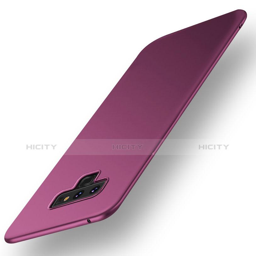 Handyhülle Hülle Kunststoff Schutzhülle Tasche Matt M01 für Samsung Galaxy Note 9 Violett Plus