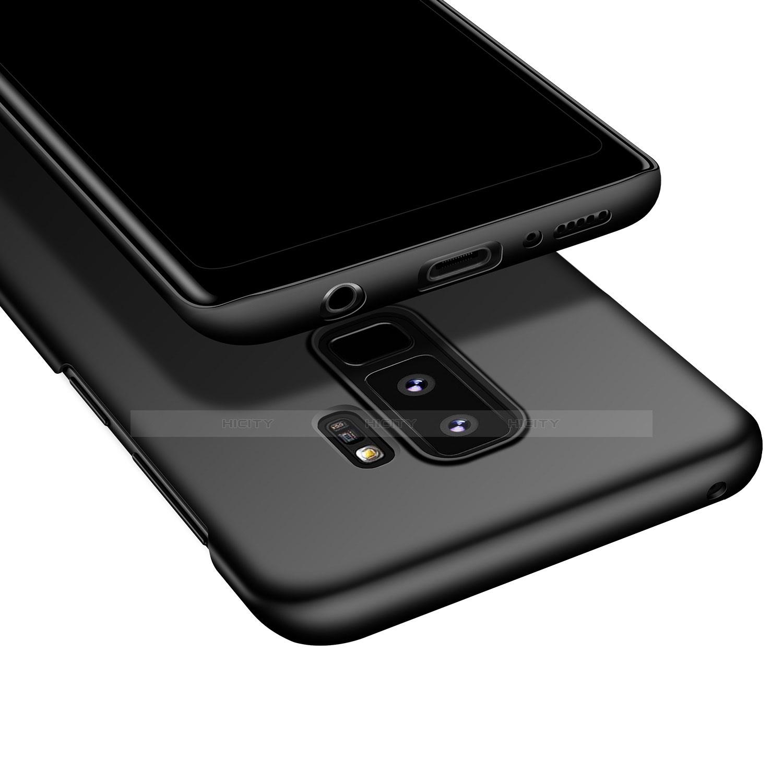 Handyhülle Hülle Kunststoff Schutzhülle Tasche Matt M01 für Samsung Galaxy S9 Plus groß