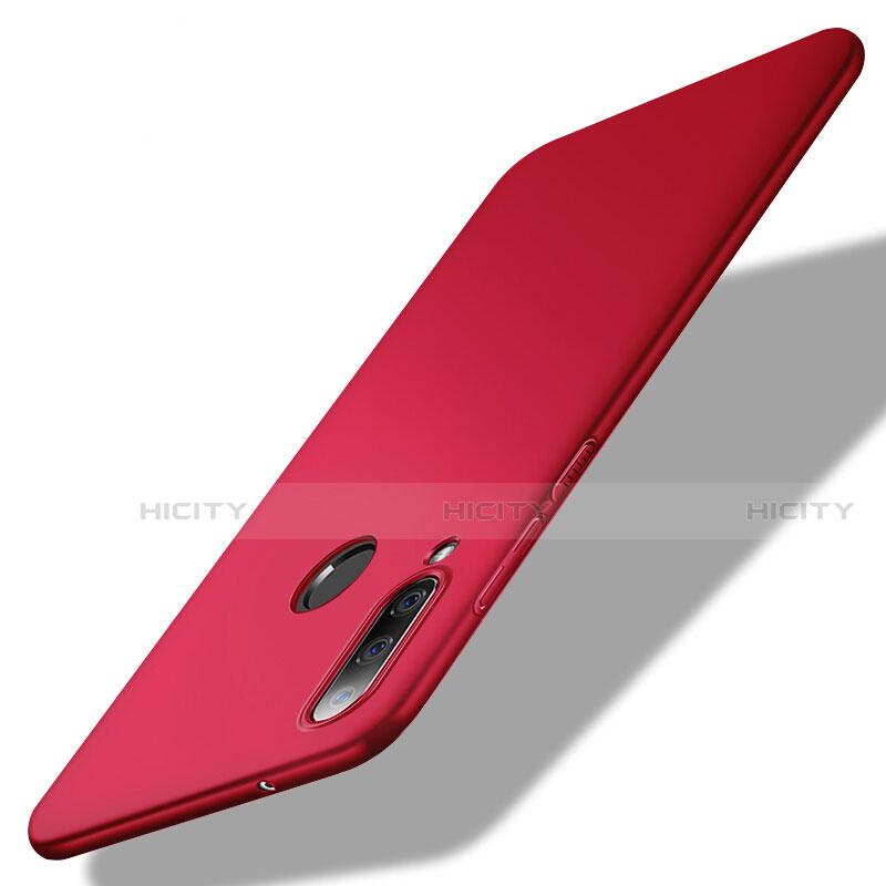 Handyhülle Hülle Kunststoff Schutzhülle Tasche Matt M02 für Huawei Honor 20 Lite Rot Plus