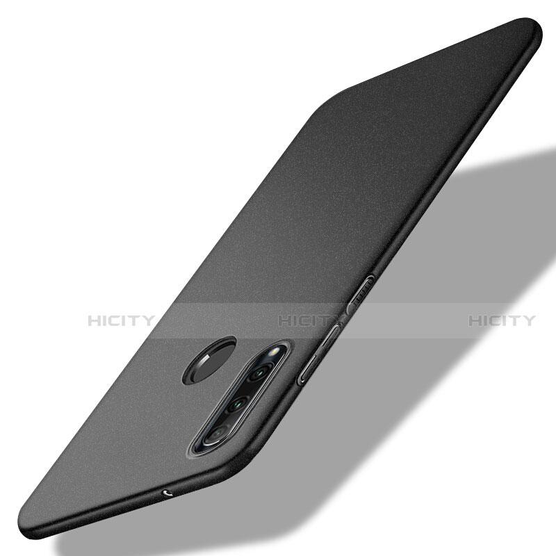 Handyhülle Hülle Kunststoff Schutzhülle Tasche Matt M02 für Huawei Honor 20 Lite Schwarz Plus
