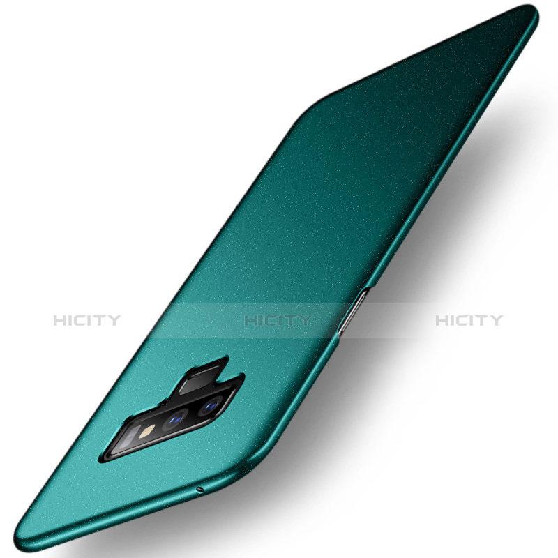 Handyhülle Hülle Kunststoff Schutzhülle Tasche Matt M02 für Samsung Galaxy Note 9 Grün Plus