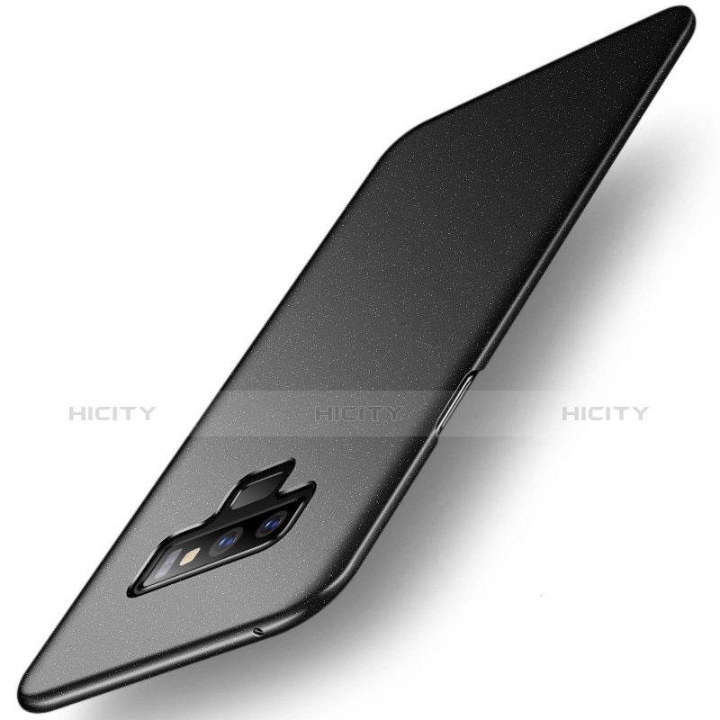 Handyhülle Hülle Kunststoff Schutzhülle Tasche Matt M02 für Samsung Galaxy Note 9 Schwarz