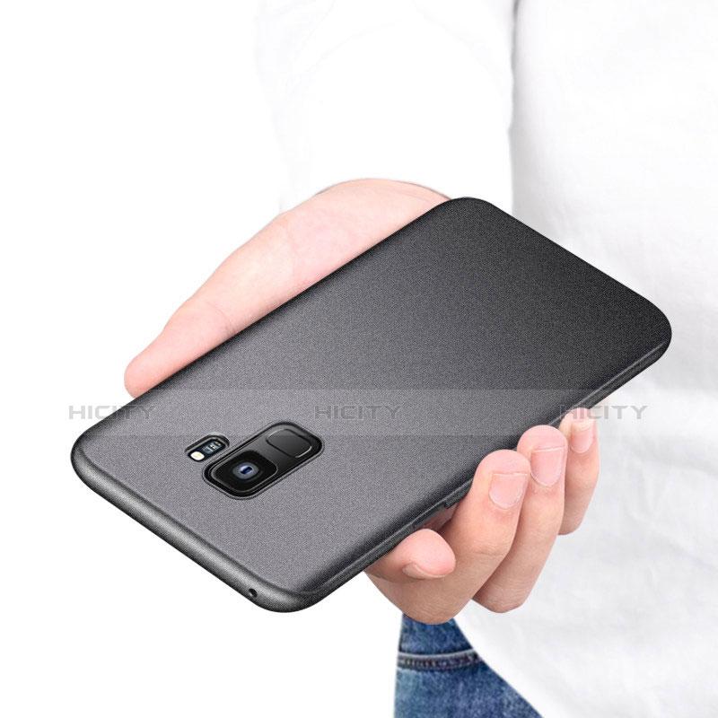 Handyhülle Hülle Kunststoff Schutzhülle Tasche Matt M08 für Samsung Galaxy S9 groß