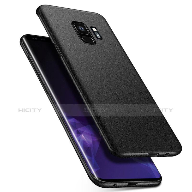 Handyhülle Hülle Kunststoff Schutzhülle Tasche Matt M08 für Samsung Galaxy S9 Schwarz Plus
