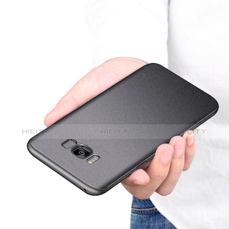 Handyhülle Hülle Kunststoff Schutzhülle Tasche Matt M17 für Samsung Galaxy S8 groß