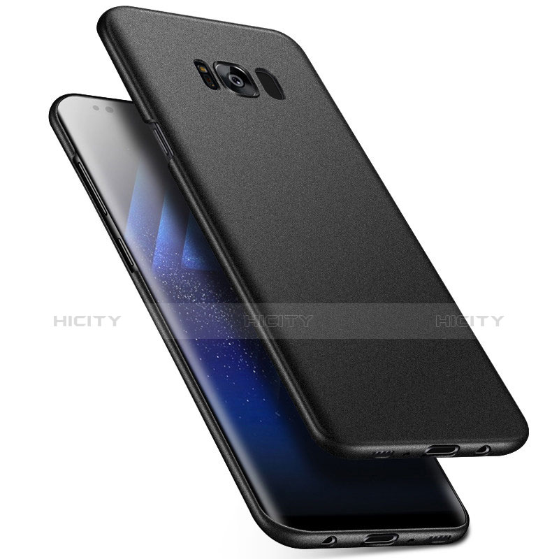 Handyhülle Hülle Kunststoff Schutzhülle Tasche Matt M17 für Samsung Galaxy S8 Plus Schwarz Plus