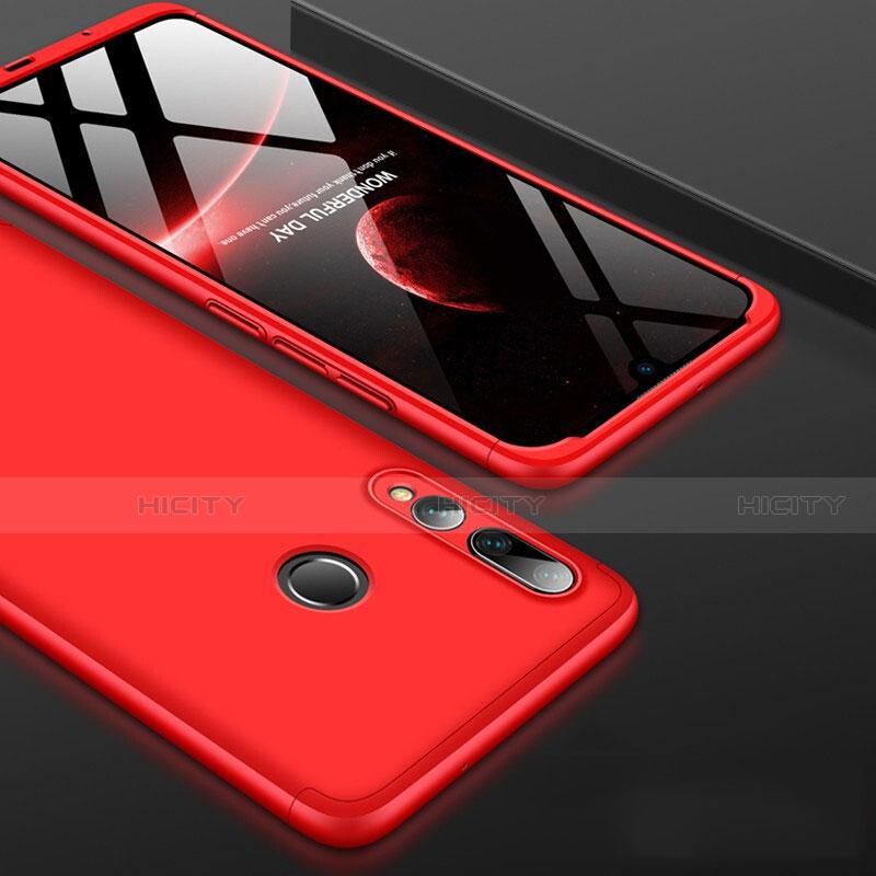 Handyhülle Hülle Kunststoff Schutzhülle Tasche Matt Vorder und Rückseite 360 Grad für Huawei Honor 20 Lite Rot Plus