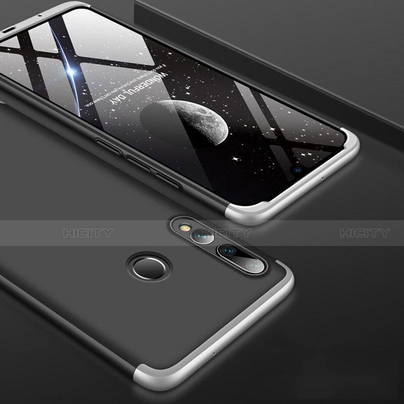 Handyhülle Hülle Kunststoff Schutzhülle Tasche Matt Vorder und Rückseite 360 Grad für Huawei Honor 20 Lite Silber Plus
